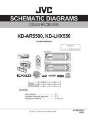 Buy JVC KD-LHX550 Schem Service Schematics by download #156118