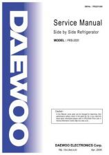 Buy DAEWOO SM FRS-2031 (E) Service Data by download #150563