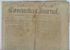 Buy CT New Haven Newspaper Title: Connecticut Journal Date: Feb-22-1797~8