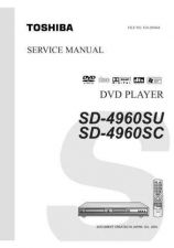 Buy Toshiba SD4960SU SD4960SC Service Manual by download Mauritron #192823