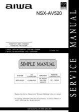 Buy Aiwa NSX-AV520 Manual by download #181718