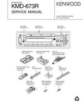 Buy KENWOOD KMD-673R Technical Info by download #151913