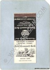 Buy CT Meriden Matchcover Lord Cromwell Grill Wilbur Cross Highway Rt Nos 5 15~1212