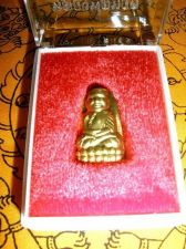 Buy RARE OLD BRASS PHRA LP TUAD (WAT HUAY MONGKOL, HUAHIN) THAI AMULET BUDDHA WITH T