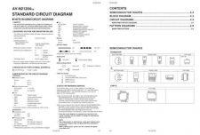 Buy JVC AV-N21204SCH TECHNICAL DATA by download #130592