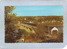 Buy CAN Hartland Covered Bridge Postcard Longest Covered Bridge In The World O~1038