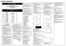 Buy Sharp 59DS03H Service Manual by download #149807