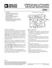 Buy INTEGRATED CIRCUIT DATA AD7821J Manual by download Mauritron #186341