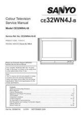 Buy Sanyo CE32WN4J-B-02 SM Manual by download #173295