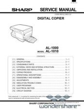 Buy Sharp 121 AL-1000 SM Manual.pdf_page_1 by download #177677