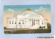 Buy CT Branford Blackstone Memorial Library w/Horse & Wagon ct_box1~95