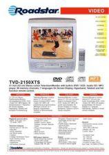Buy ROADSTAR TVD-2150XTS by download #128549