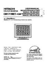 Buy Sanyo CM1711MET EN Manual by download #173438