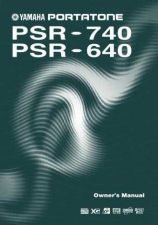 Buy Yamaha PSR740E Operating Guide by download Mauritron #204179