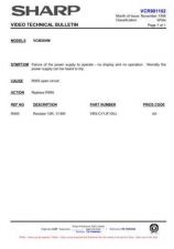 Buy Sharp VCMH67HM-003 Service Schematics by download #159067
