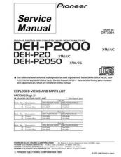 Buy PIONEER C2334 Service Data by download #152565