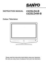 Buy Sanyo CE23LD4W-B Manual by download #172979