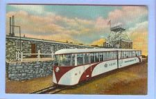 Buy CO Pikes Peak Streamline Cog Train At Summit House View Small 2 Car Train ~9