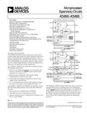 Buy INTEGRATED CIRCUIT DATA ADM690 5J Manual by download Mauritron #186430
