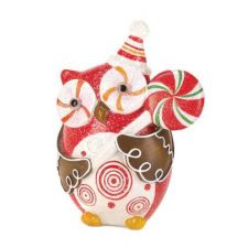 Buy Owl Holding Candy Cane Lollipop