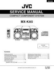 Buy JVC MX-KA5 TECHNICAL DATA by download #131373