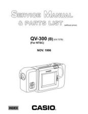 Buy MODEL QV300B Service Information by download #124404