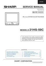 Buy Sharp 21HFV1A SM GB(1) Manual by download #169772