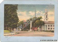 Buy CT Meriden Postcard Memorial Boulevard Street Scene Intersection ct_box3~1316