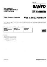 Buy Sanyo Service Manual For MECHANISM-V95-2 Manual by download #175969