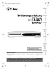 Buy Funai DR-A2877 E68C3ED GE 0527 BR2 Owners User Guide Operating by download #1620