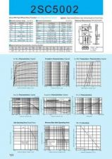 Buy Semiconductor Data 2SC5002 by download Mauritron #195035
