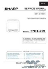 Buy Sharp 37GT25S SM GB(1) Manual.pdf_page_1 by download #178414