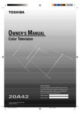 Buy Toshiba 19A24 Manual by download #170202
