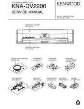 Buy KENWOOD KNA-DV2200 Technical Info by download #148202