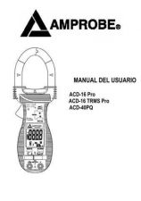 Buy Amprobe ACD10TRMSPlus User Instructions Operating Guide by download Mauritron #