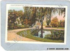 Buy CT Meriden Postcard Scene In Brookside Park ct_box3~1263