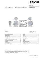 Buy Sanyo DC-MCR50(1) Manual by download #173919