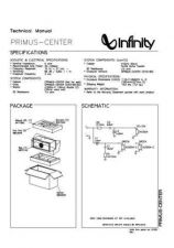 Buy INFINITY PRIMUS CENTER TM Service Manual by download #151338