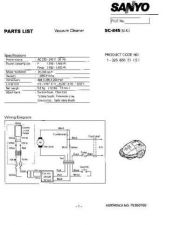 Buy Sanyo SC410 (SP) Manual by download #175207