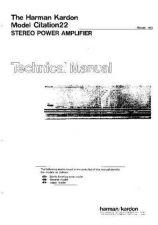 Buy Harman Kardon CITATION 22 SM Manual by download Mauritron #185628