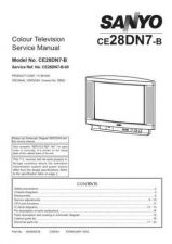 Buy Sanyo CE28DN7-B-00 SM Manual by download #173117