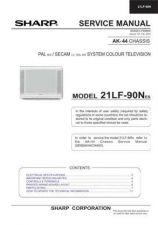 Buy Sharp 21KF80C SM GB Manual by download #169793