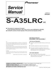Buy PIONEER R2081 Service Data by download #149396