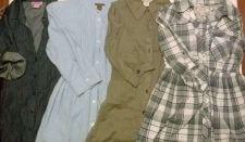 Buy Wholesale LOT 4 Ladies Women Junior Size Button Down Shirt Dress Brands SZ S/M