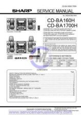 Buy Sharp CDBK137W SM GB Manual by download #179856