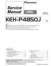 Buy PIONEER C2333 Service Data by download #148843