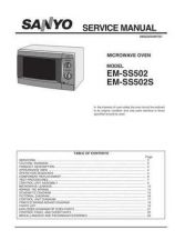 Buy Sanyo EM-S074 Manual by download #174349