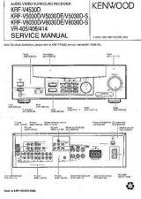 Buy KENWOOD KRF-V7773D V7773DB V9993D Technical Info by download #151978