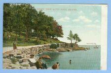 Buy CT Savin Rock Front View Of Savin Rock Proper View Of Water w/Bathers Ston~632
