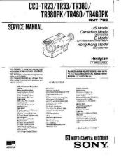 Buy SONY CCD-TR38 Service Manual by download #166386